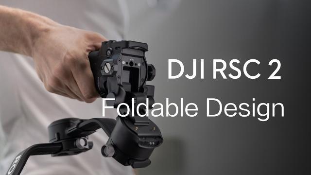 DJI RSC 2 | Foldable Design