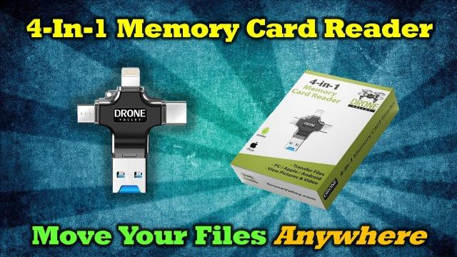 Ultimate Memory Card Reader - Move Your Files Anywhere