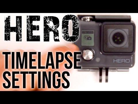 Como Fazer Time Lapse Gopro Hero 4 Setup Timelapse Mode