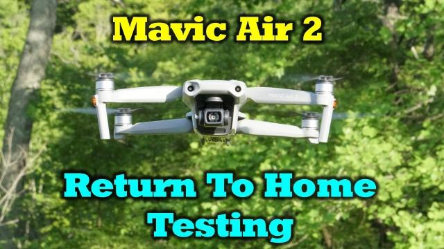 Mavic Air 2 - Return To Home Testing