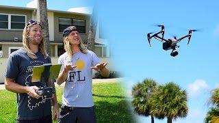 DJI Inspire 2 + Zenmuse X5S with NPI Productions!