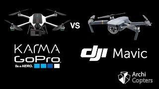 GoPro Karma VS DJI Mavic Pro - ArchiCopters