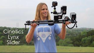 Cinetics Lynx - New Camera Slider!