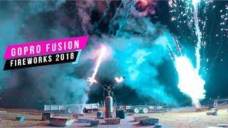 GoPro Fusion Fireworks July 4th 2018 - 360 VIDEO!