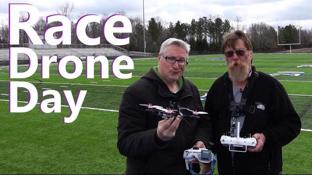Crashing FPV Race Drones - KEN HERON