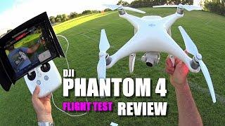 DJI PHANTOM 4 Review - Part 3 - [Flight Test, Pros & Cons]