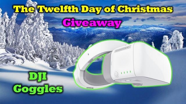 Free DJI Goggles & A Drone Valley Christmas Wish - 12 Days of Drone Valley Christmas