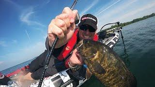 GoPro Hero4 Session BASS POV - Dave Mercer's Facts of Fishing!