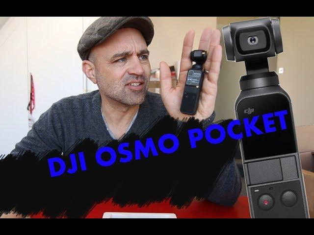 DJI Osmo Pocket ... One to Buy or are you Just pleased to see me?