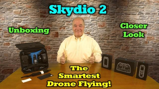 Skydio 2 - Closer Look and Initial Impressions - Incredible!