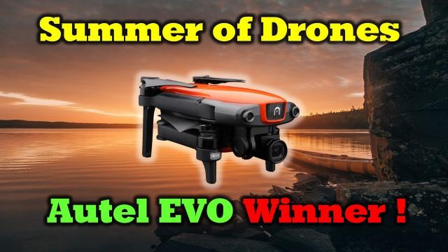 Summer of Drones Giveaways - Autel Evo Winner