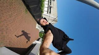 GoPro: Freerunning a Frankfurt Tower with Jason Paul