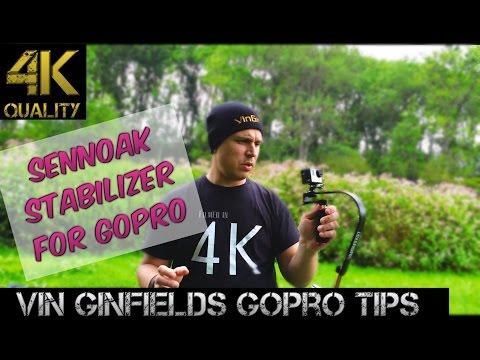 GoPro Tip #130 Sennoak Stabilizer For GoPro (4K)
