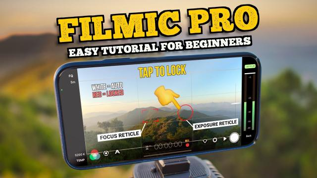 FILMIC PRO TUTORIAL FOR BEGINNERS // PRO SMARTPHONE VIDEO SETTINGS MADE EASY!