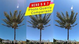 GoPro Hero7 Hero6 Hero5 Black Photo Quality Comparison - GoPro Tip #624