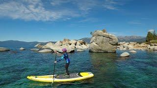 Lake Tahoe Paddleboarding - BODYGLOVE SUP GIVEAWAY!!!