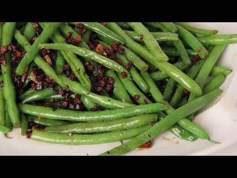 Pancetta And Balsamic Green Beans - Recipe By Laura Vitale - Laura In The Kitchen Ep 273