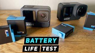 GoPro HERO9 Battery Life Comparison - GoPro Tip #684 | MicBergsma