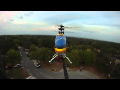 GO PRO HD.Rear Facing Camera On RC Helicopter