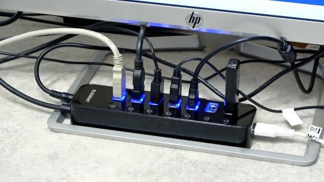 ELEGIANT 8 Port USB Hub 3 0