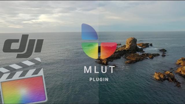 DJI - DLOG to REC.709 using mLut plugin