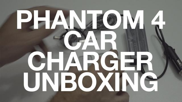 DJI Phantom 4 Car Charger Unboxing Video
