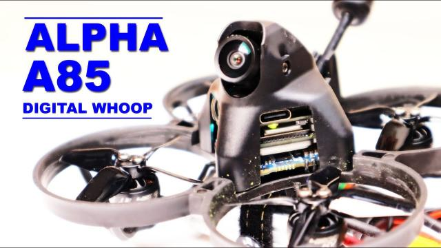 WOW! iFlight ALPHA A85 Digital Whoop - I highly recommend this FPV Drone for beginners!