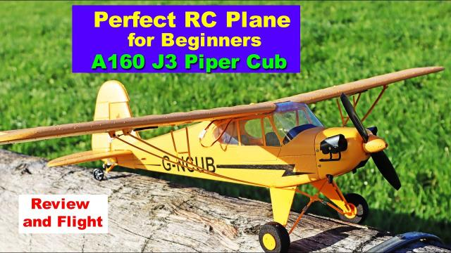 Great RC Plane for Beginners - Ready to Fly out of the box - A160 J3 - Review