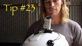 Tethers On The Helmets - GoPro Tip #23