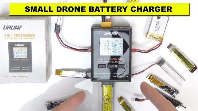 Small Drone Multi Battery Charger - Works Great!!!