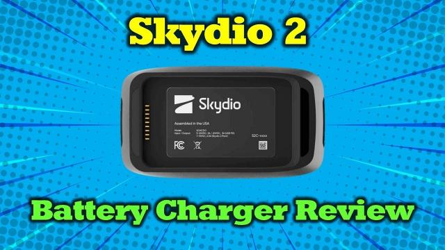Skydio 2 Dual Charger Overview - Awesome Accessory!