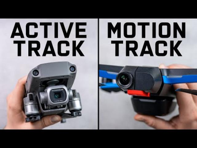 Skydio 2 Motion Track vs. Mavic 2 ActiveTrack - Full Comparison