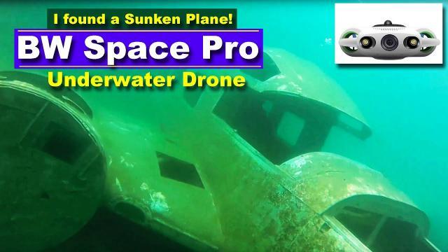 BW Space Pro Underwater Drone - I found a sunken airplane!