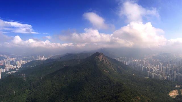 Aerial View - Hong Kong 香港 - DJI Phantom 4
