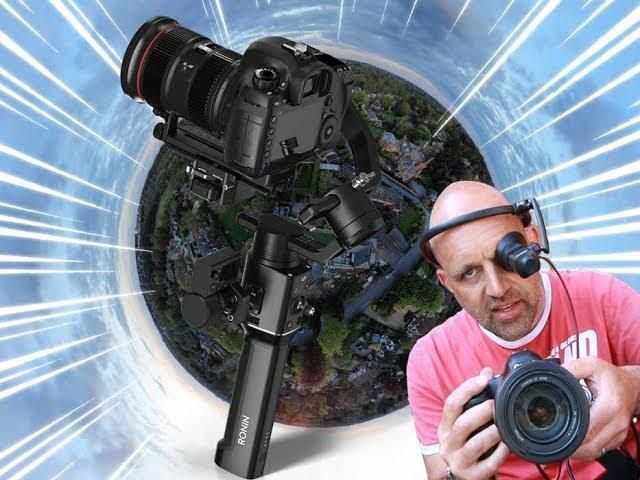Testing Air Scouter HUD with DJI Ronin-S & Canon 5D.. Guess what didn't show up..
