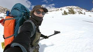 GoPro: Elena Hight Snowboards & Travels the Sierra Backcountry in 4K