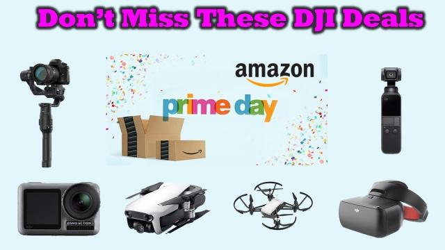Great Discounts on DJI Gear During The Amazon Prime Member Event This Week - Details Inside!