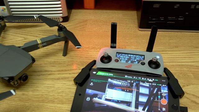 DJI Mavic Pro – Exporting Remote Controller Data with DJI