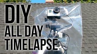 DIY All day Timelapse Setup ft. Eachine X-power Serie X2