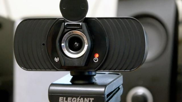 ELEGIANT Webcam with Microphone