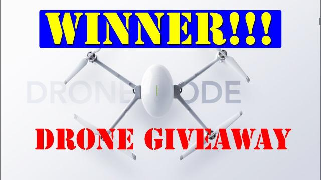 WINNER of the PowerEgg-X Wizard Drone Give away Contest!