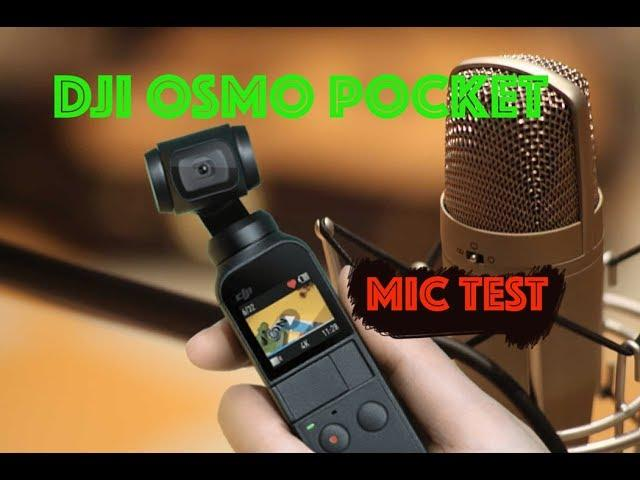 DJI OSMO POCKET: Does it NEED an External MIC to VLOG?