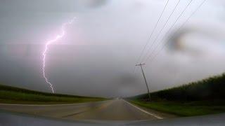 HD Lightning Chasing - Southern Illinois Storms - GoPro Hero3+ Black