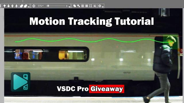 Motion Tracking with VSDC Video Editor Pro + Giveaway! ????