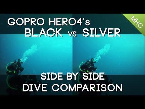 GoPro Hero4 Diving Comparison Black Vs Silver (Daytime)