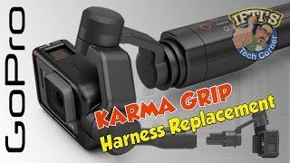 GoPro Karma Grip : Replacing the Harness for the Hero 4 / Session