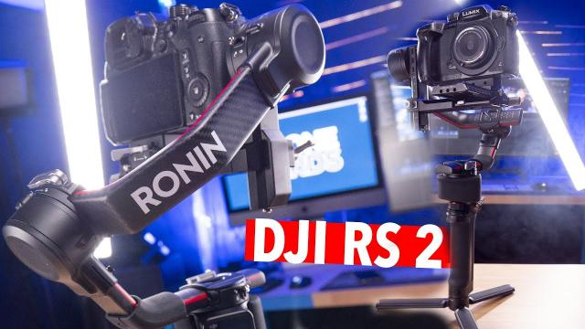 DJI RS 2 FIRST LOOK!