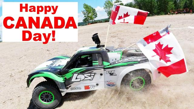 Happy Canada Day 2019!  RC Cars at the Beach!