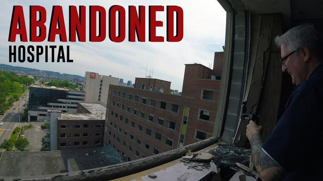 HUGE Abandoned Hospital Tour (Morgue Found) KEN HERON