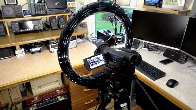 ELEGIANT 18in Ring Light Kit With Tripod Stand
